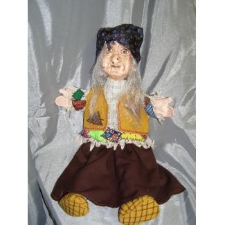 Кукла перчаточная Баба Яга большая