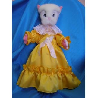 Кукла перчаточная Кошка большая