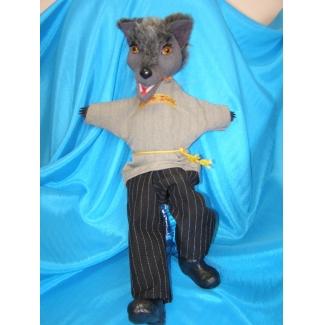Кукла перчаточная Волк большой