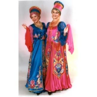 Платья концертные русские