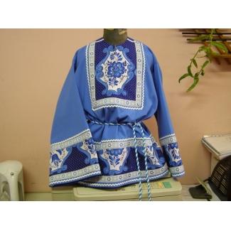 Рубашка Гжель